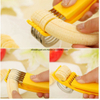 Banana Slicer Chopper Fruit Cutter Cucumber Salad Vegetable Peeler ESG10245