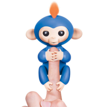 Fingerlings - Interactive Baby Monkey- (Turquoise with Purple Hair) ESG10347