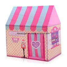 Kids Play Tent Foldable Flower Pretend Playhouse for Girls ESG10643