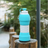Collapsible Water Bottle BPA Free Silicone portable Travel Bottle ESG10601