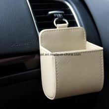 Car Seat Back Interior Vent Cell Phone Pouch Box ESG10638