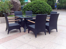 Rattan Furniture / Outdoor Furniture / Rattan Dining (GET345)