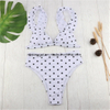 Women′s Bikini Swimsuits High Waisted 2 Pieces Bathing Suits ESG10568