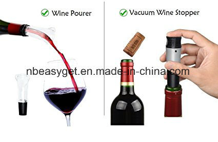 Wine Bottle Opener, Automatic Corkscrew with Foil Cutter ESG10385