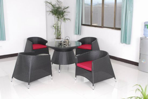 Rattan Furniture/Outdoor Furniture/Rattan Table/Rattan Chair (GET-2031)