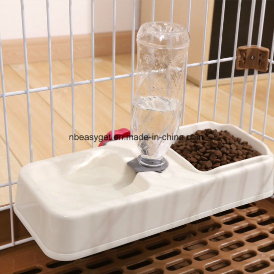 Pets water bowls with Non Slip No Spill Base ESG10472