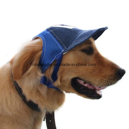 Dog Baseball Hat Adjustable Outdoor Sports Sun Protection Cap ESG10175