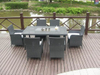 Rattan Furniture / Outdoor Furniture / Rattan Dining / Dining Table Chair (GET-1819)