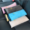 Childrens Car Vehicle Safe Soft Plush Seat Belt Pillow Seatbelt Pads Support for Neck and Head ESG12860